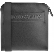 Product Image for Emporio Armani Logo Shoulder Bag Black